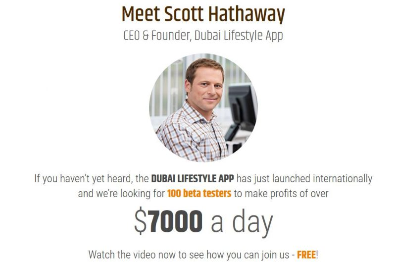 Scott Hathaway Dubai Lifestyle