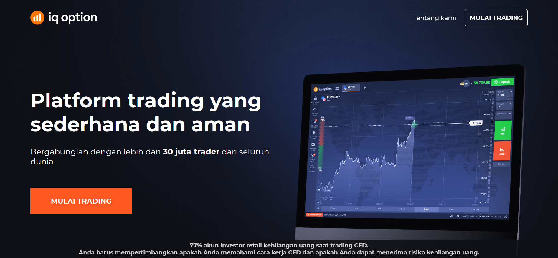 IQ option indonesia homepage