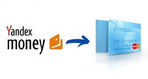 Yandex Money Virtual Prepaid Card