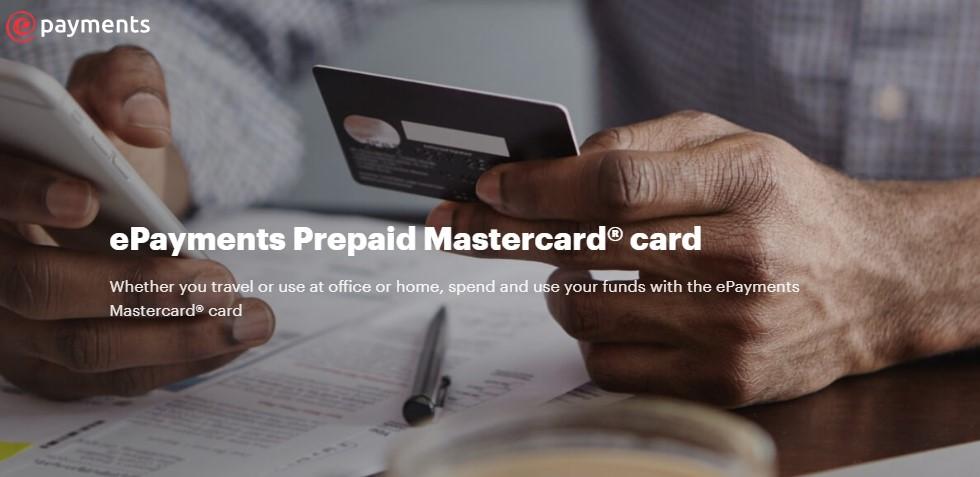 ePayments Prepaid Mastercard