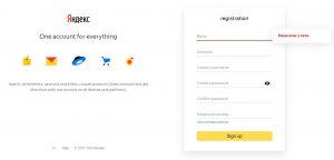 Abrindo uma conta Yandex Money no Brasil