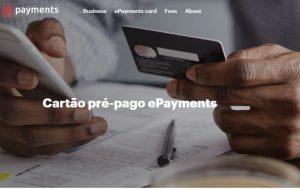 Cartão pré-pago ePayments