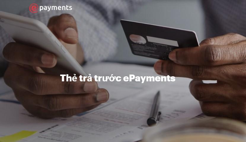 Thẻ trả trước ePayments