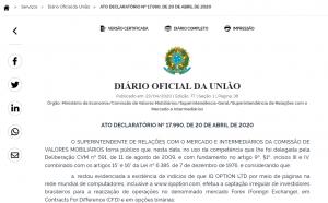 A IQ Option foi proibida pela CVM de operar no Brasil