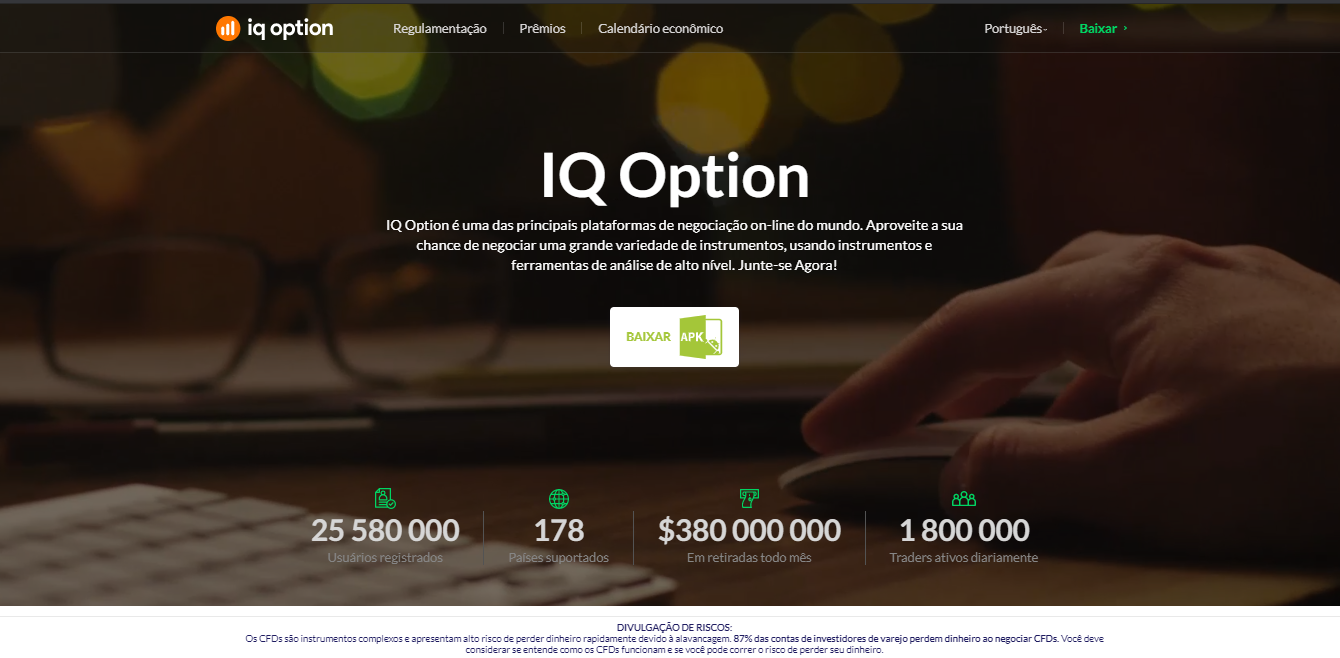 iq option apk