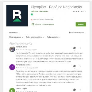 Experiência com o Olymp Trade Bot
