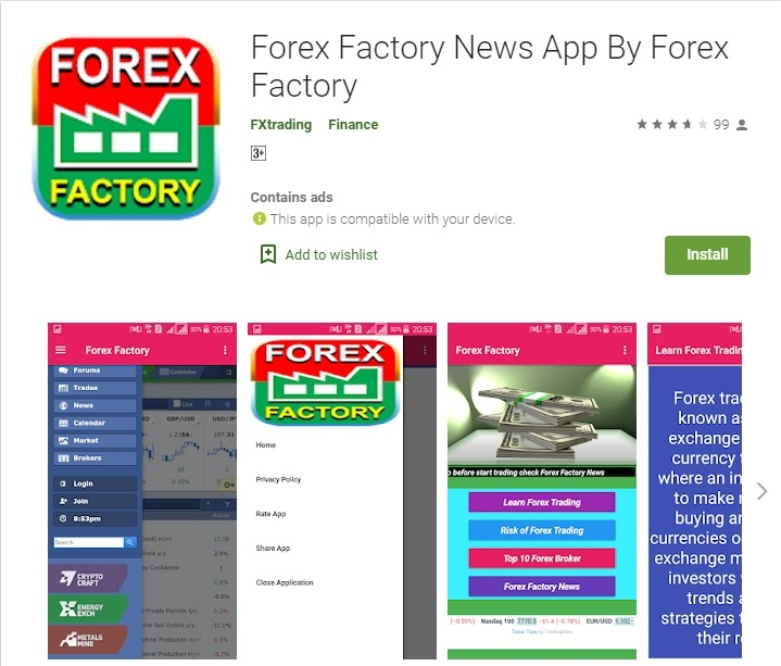 Forex Factory App
