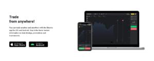 Aplikasi mobil Binomo untuk Android dan iOS download