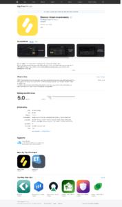 Aplikasi mobile Binomo untuk iOS