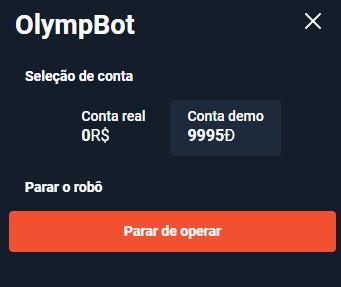 Começar operar com bot olymp trade