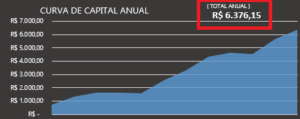 curva de capital anual