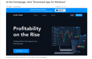 download Olymp Trade pc