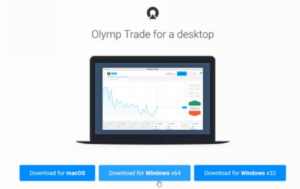download and login olymp trade