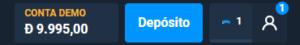 Como deposito no Olymp Trade