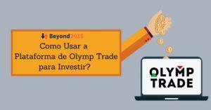 Olymp Trade Plataforma